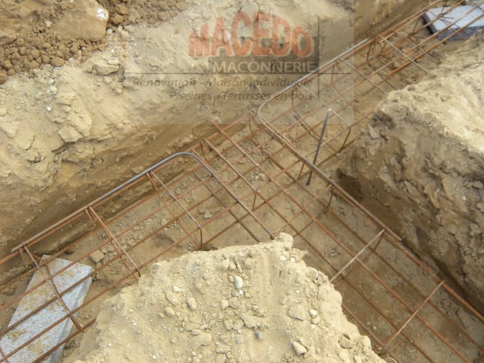 Ferraillage fondation pas cher for Le ferraillage des fondations